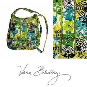 Vera Bradley Limes Up Cross Body Mailbag